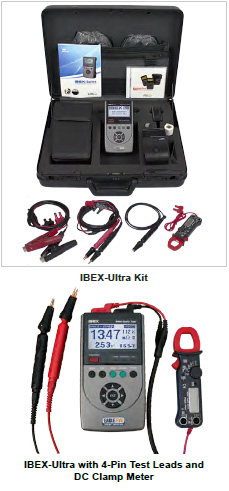 IBEX-Series Portable Battery Testers